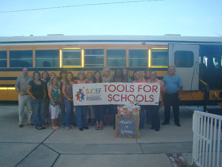 Tools for Schools collection drive
